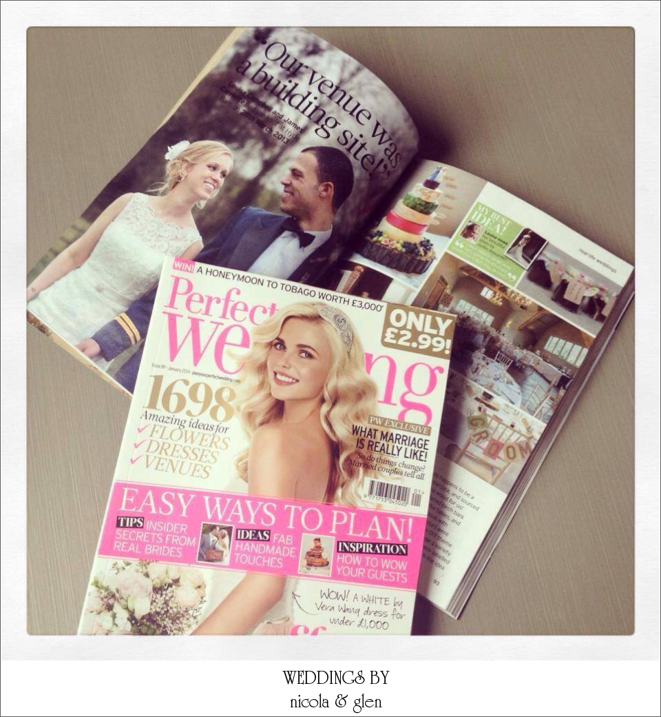 Featured: Louise & James' Hyde Barn Wedding In Perfect