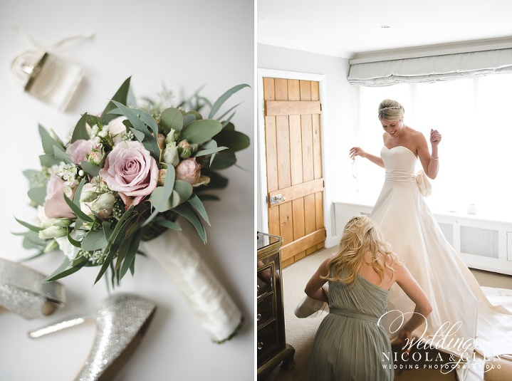 Exclusive Use Calcot Manor Wedding Photo