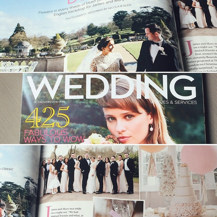 Luton Hoo Wedding In Wedding Venues Services Magazine Mary And