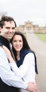 Blenheim Palace Oxford Engagement Session Photo