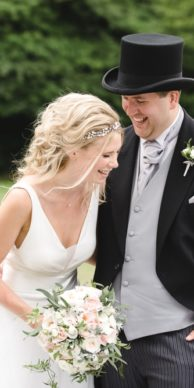 Manor House Castle Combe Outdoor Wedding Photo