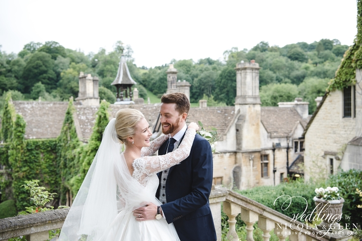 Manor House Castle Combe Marquee Wedding Photo