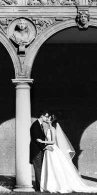 Oxford College Bodleian Library Wedding Photo