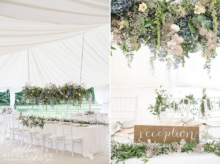 Norton Grounds Marquee Wedding Inspiration In Wedding Flowers